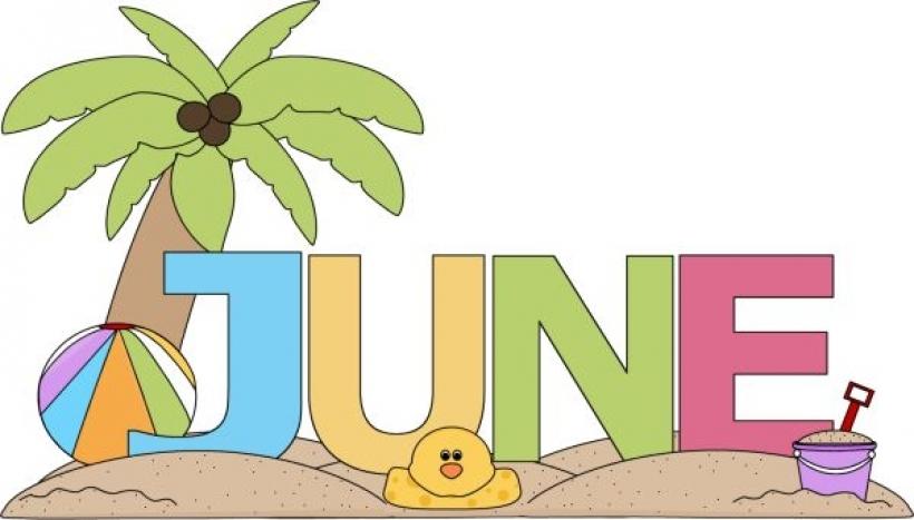 Calendar june clipart. Month of clip art