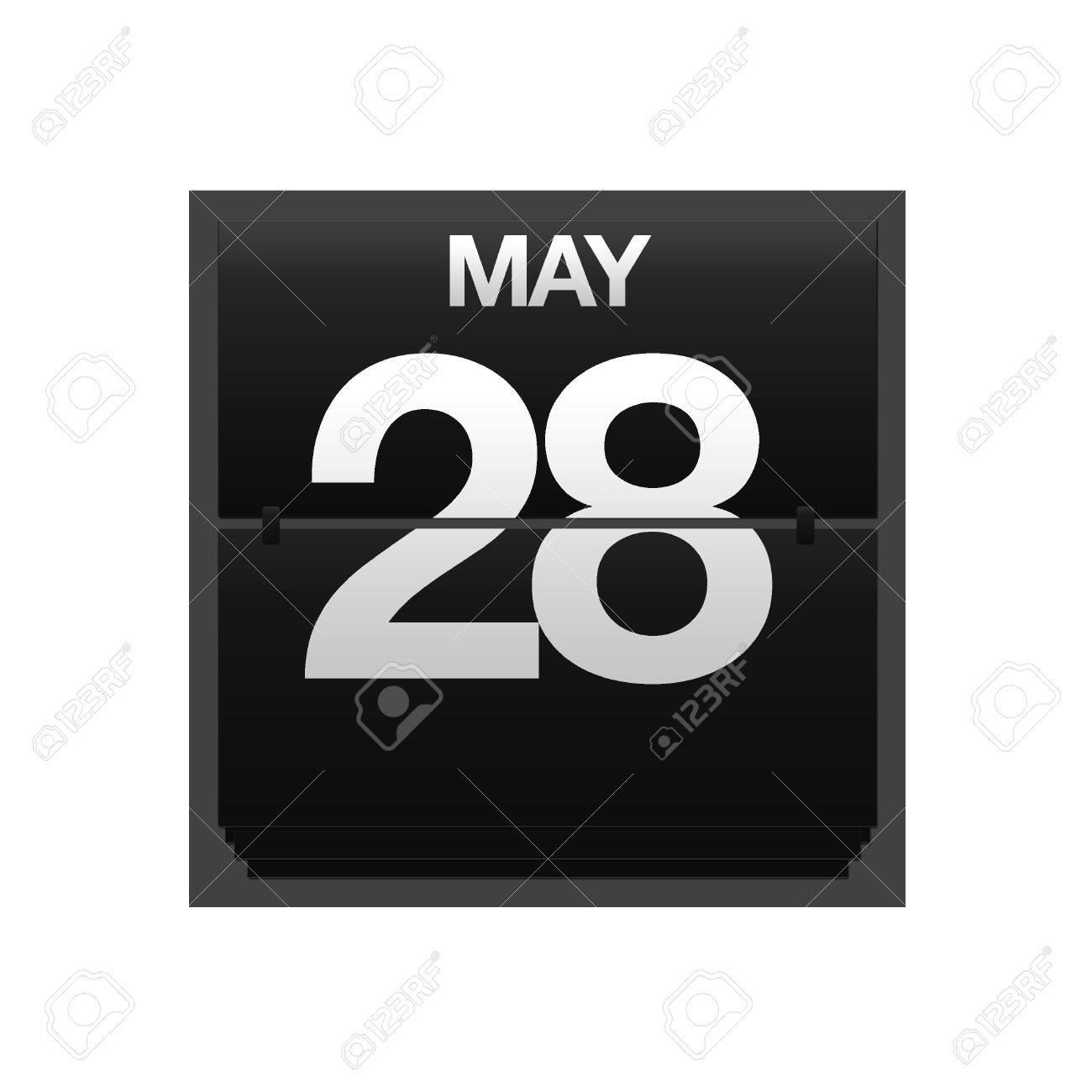 Calendar may 28 clipart png royalty free library Illustration With A Counter Calendar May 28 Stock Photo, Picture ... png royalty free library