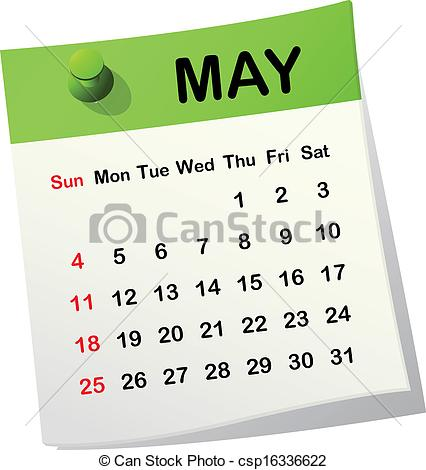 Calendar may 28 clipart banner free download Clipart calendar may - ClipartFest banner free download