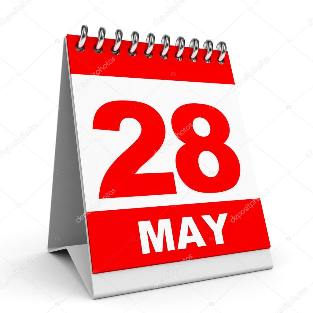 Calendar may 28 clipart image freeuse download Calendar. 28 May. — Stock Photo © iCreative3D #44668603 image freeuse download