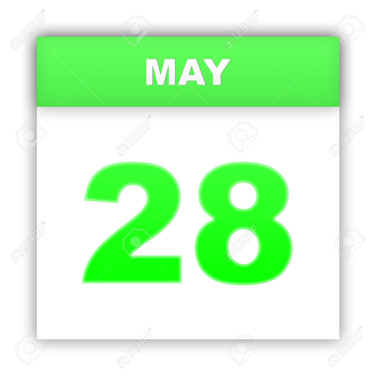 Calendar may 28 clipart png royalty free May 28. Day On The Calendar. 3d Stock Photo, Picture And Royalty ... png royalty free