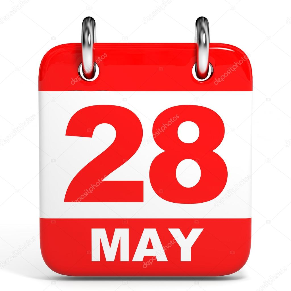 Calendar may 28 clipart image transparent stock Calendar. 28 May. — Stock Photo © iCreative3D #44672451 image transparent stock