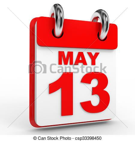 13 may calendar on white background Illustrations and Stock Art ... image black and white stock