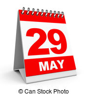 Calendar may background clipart clip art transparent library Stock Illustration of Calendar. 2 May. - Calendar on white ... clip art transparent library
