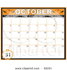 Calendar october clipart png stock Calendar october 2016 clipart - ClipartFest png stock