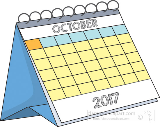 Calendar october clipart graphic royalty free download Free Calendar Clipart - Clip Art Pictures - Graphics - Illustrations graphic royalty free download