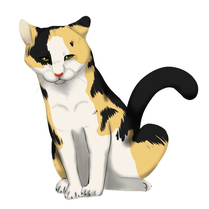 Calico cat clipart free graphic free download Calico Cat Clipart chibi - Free Clipart on Dumielauxepices.net graphic free download