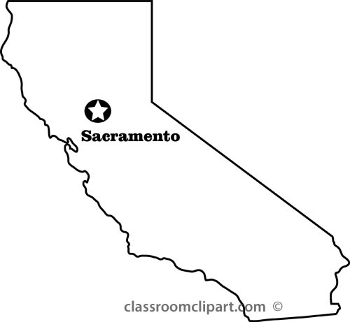 California map clipart png royalty free California Clipart - Clipart Kid png royalty free