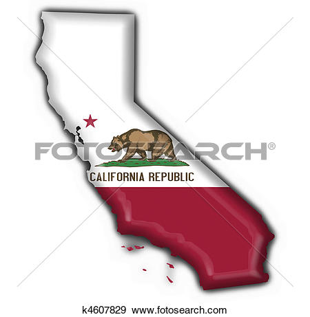 California map clipart picture freeuse download Clip Art of California Interstate Highway Map k3031338 - Search ... picture freeuse download