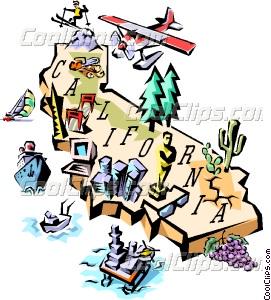 California map clipart png free California map Vector Clip art png free