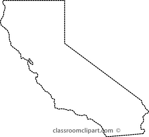 California map clipart graphic black and white stock California Clipart - Clipart Kid graphic black and white stock