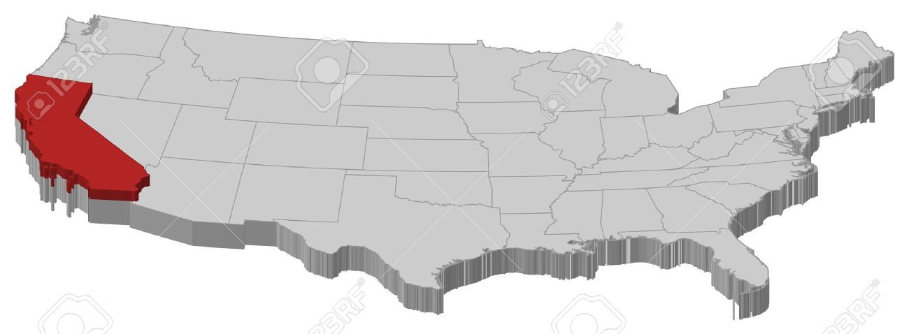Clipartfest outline political . California on a us map clipart