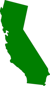 California state clipart banner transparent stock Green State California Clip Art at Clker.com - vector clip art ... banner transparent stock