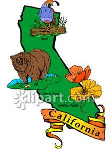 California state flower clipart jpg royalty free library California state clipart - ClipartFest jpg royalty free library