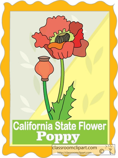 California state flower clipart jpg freeuse California state flower clipart - ClipartFest jpg freeuse