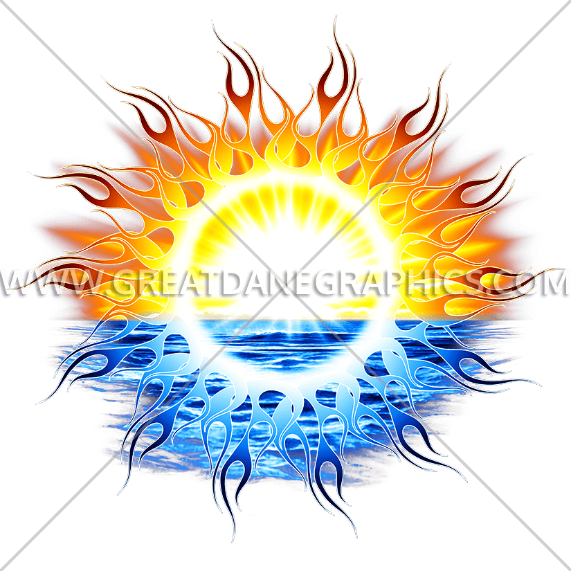 Claifornia sun clipart royalty free stock California Sun | Production Ready Artwork for T-Shirt Printing royalty free stock