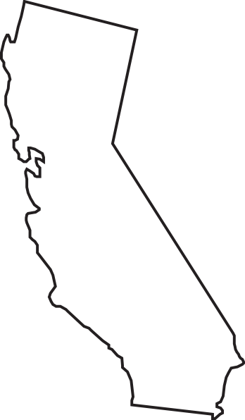 California thick outline clipart vector library download Free California Bear Outline, Download Free Clip Art, Free Clip Art ... vector library download