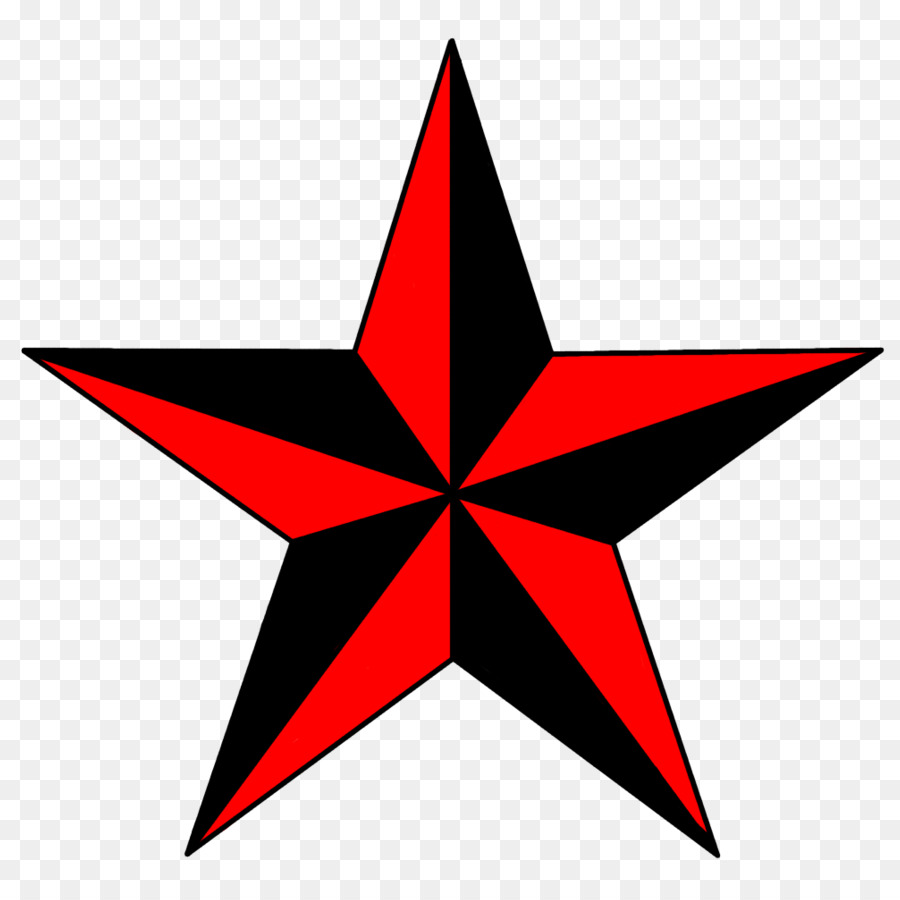 Californiastar clipart black and white library Red Star clipart - Tattoo, Red, Star, transparent clip art black and white library