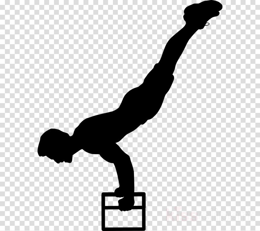 Calisthenic clipart clipart freeuse library Calisthenics, Street Workout, Silhouette, transparent png image ... clipart freeuse library