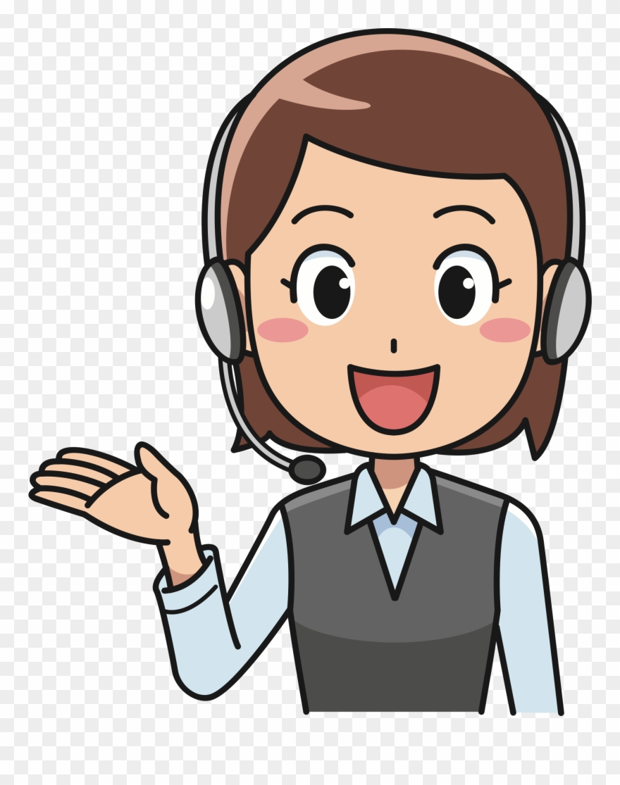 Call center images clipart clipart freeuse stock Clipart Telephone Female Person - Call Center Agent Png Transparent ... clipart freeuse stock