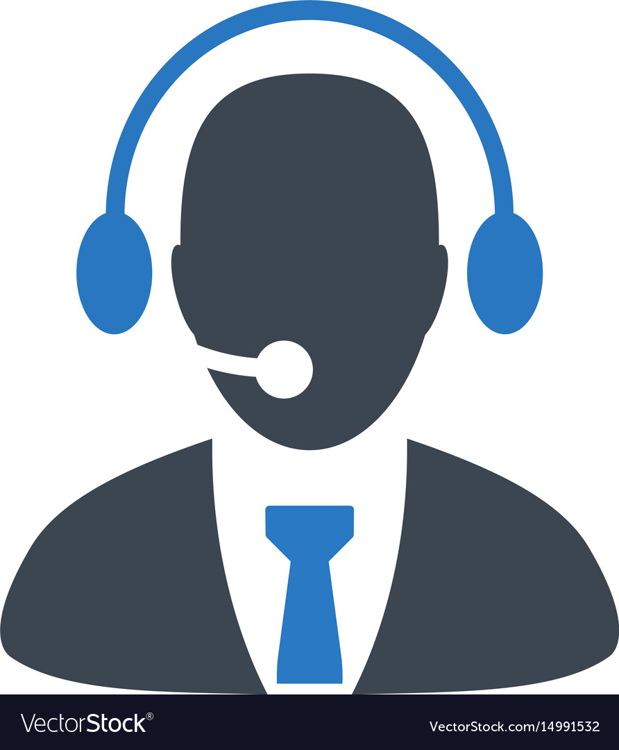 Call center images clipart clipart transparent library Call center director flat icon clipart transparent library