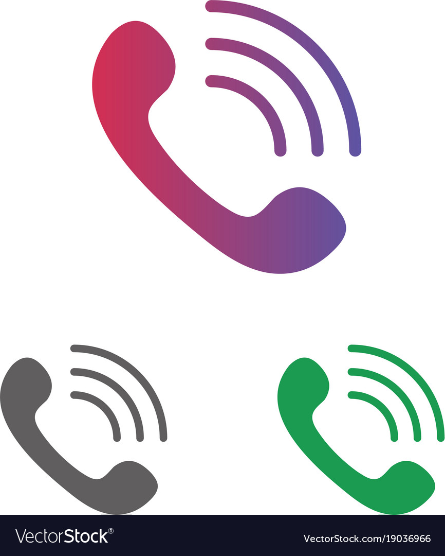 White icon set clipart svg Telephone call icon set clipart isolated on white svg