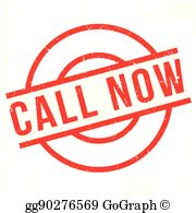 Call now clipart clip art freeuse download Call Now Clip Art - Royalty Free - GoGraph clip art freeuse download