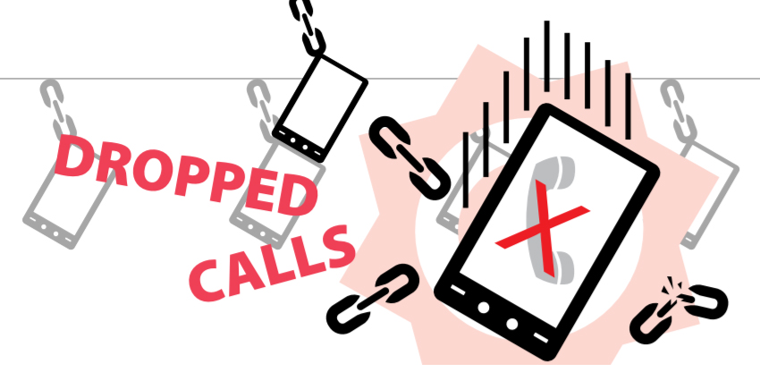 Call off clipart vector royalty free stock DROPPED CALLS - vector royalty free stock