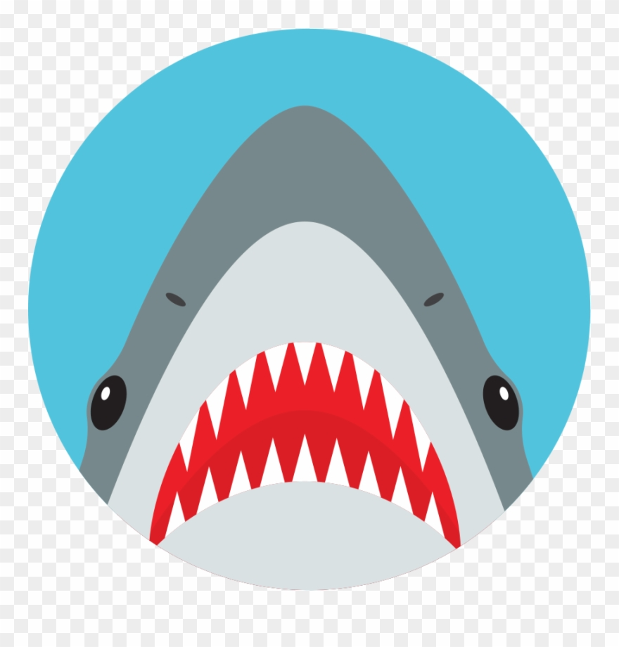 Call shark clipart vector library library Nuckees Original Phone Grips - Shark Vector Head Clipart (#1135335 ... vector library library