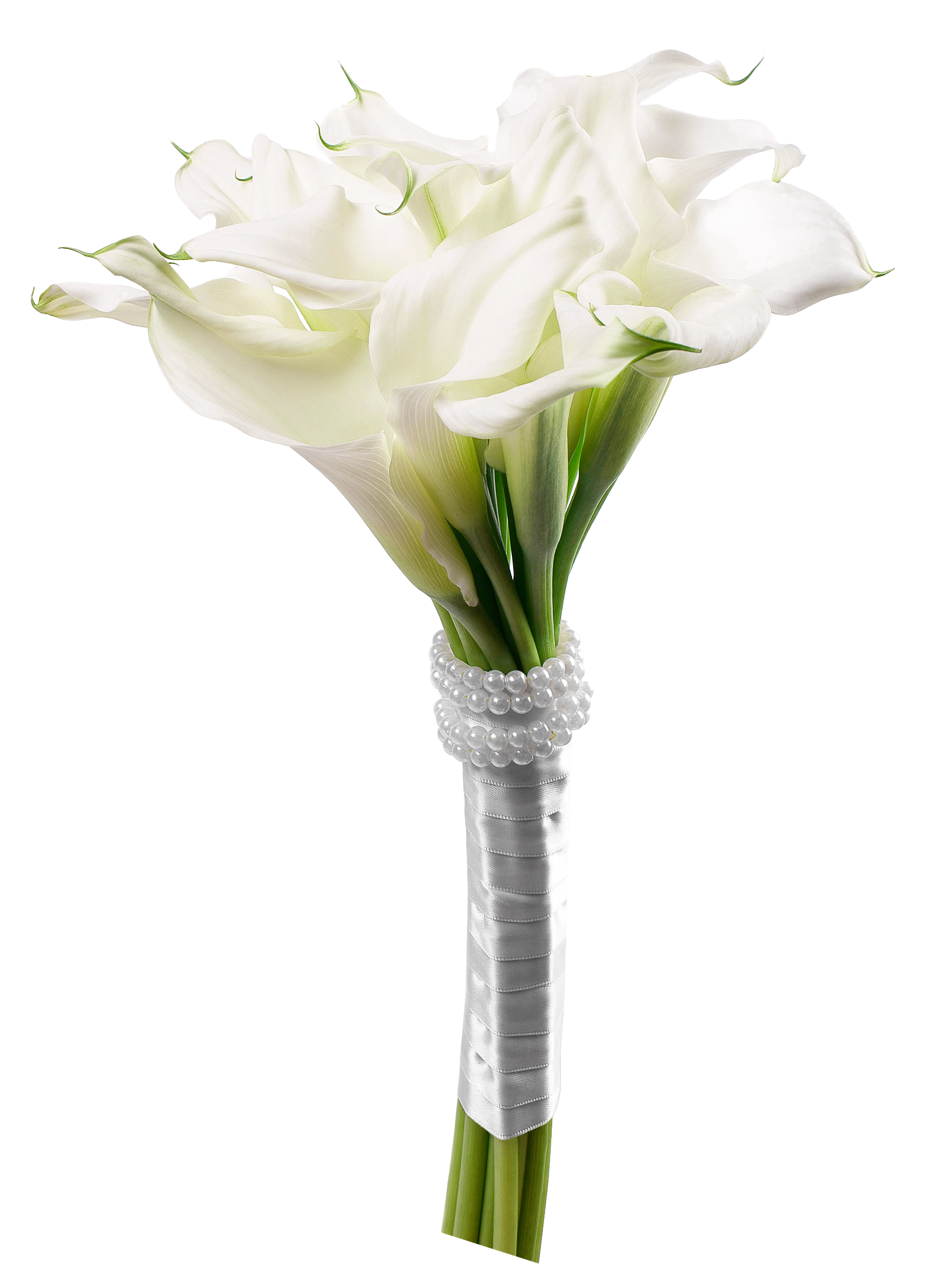 Calla lily bouquet black and white clipart graphic free Calla Lily Bouquet PNG Clip Art - Best WEB Clipart graphic free