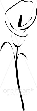 Calla lily clipart black white clipart black and white download Calla Lily Clip Art & Look At Clip Art Images - ClipartLook clipart black and white download