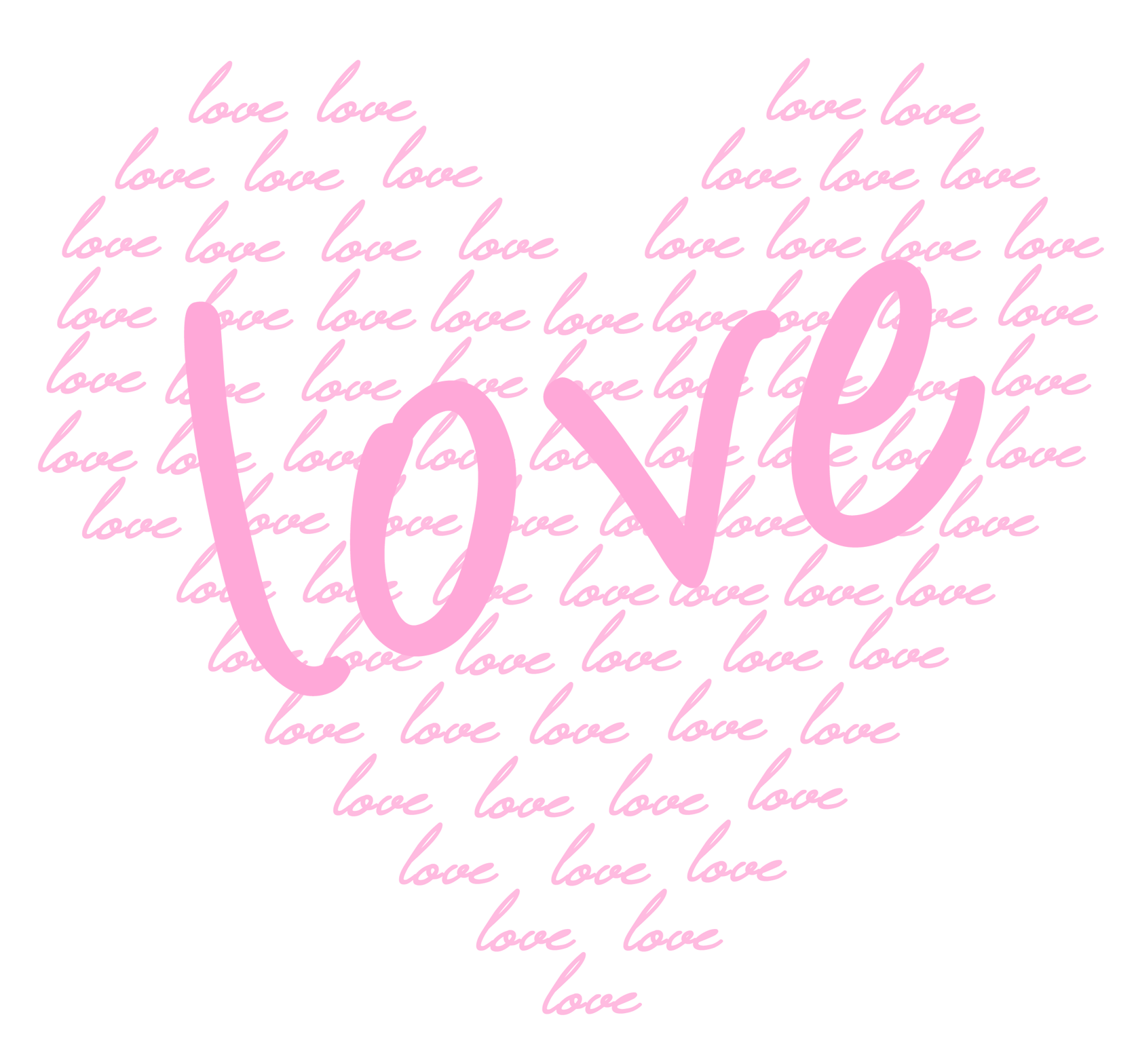Calligraphy heart clipart jpg download Soft Pink Heart of Love PNG Clipart   Gallery Yopriceville - High ... jpg download