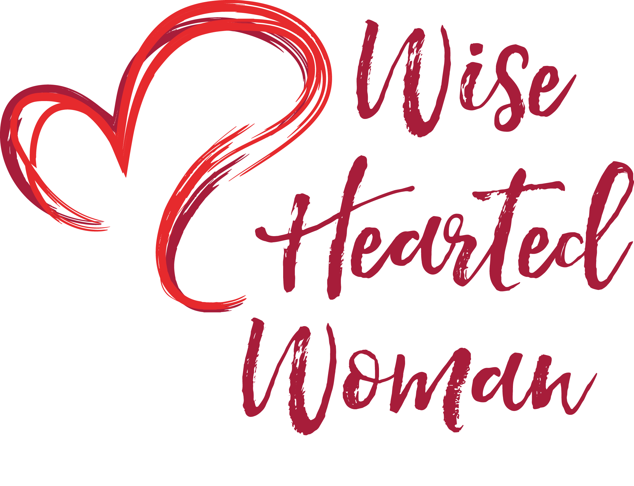 Calligraphy heart clipart image royalty free Wise Hearted Woman   Embrace your body. Love your life. image royalty free