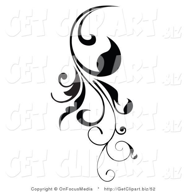 Calligraphy scroll clipart vertical clip transparent download Clip Art of a Vertical Black | Clipart Panda - Free Clipart Images clip transparent download