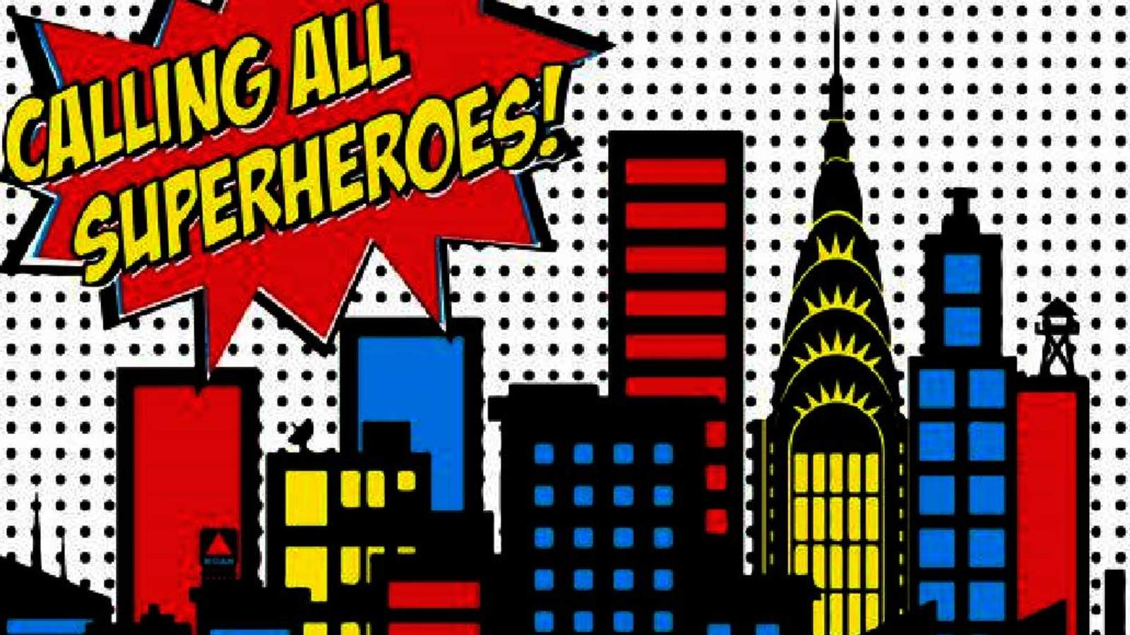 Calling all superheroes clipart transparent Month of the Military Child Superhero Appreciation Event • USO New ... transparent