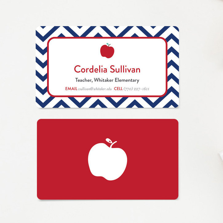 Calling card clipart picture free stock Free teacher business card clipart - Clip Art Library picture free stock