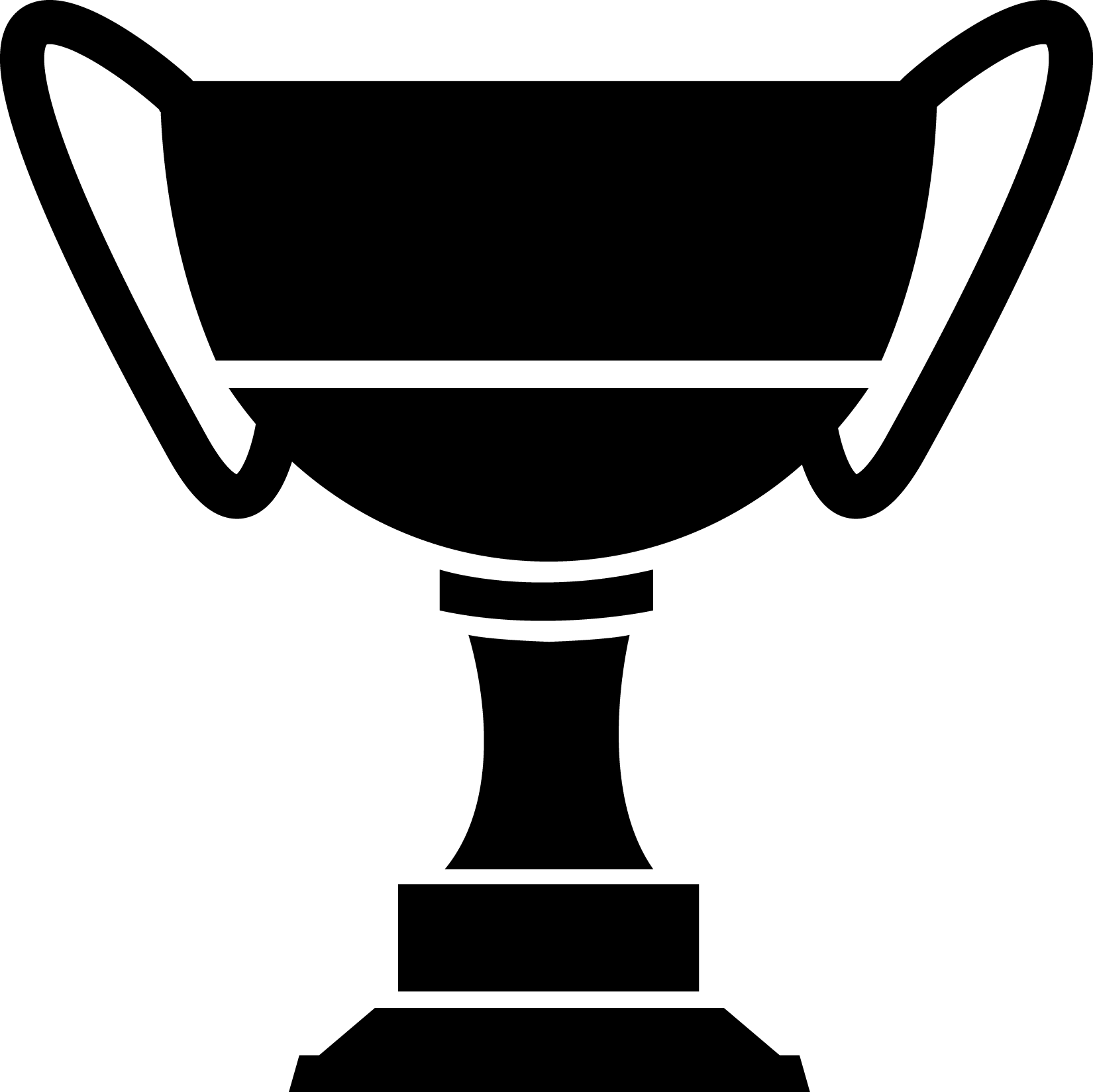 Calvalier basketball champ trophy clipart black & white graphic transparent home graphic transparent