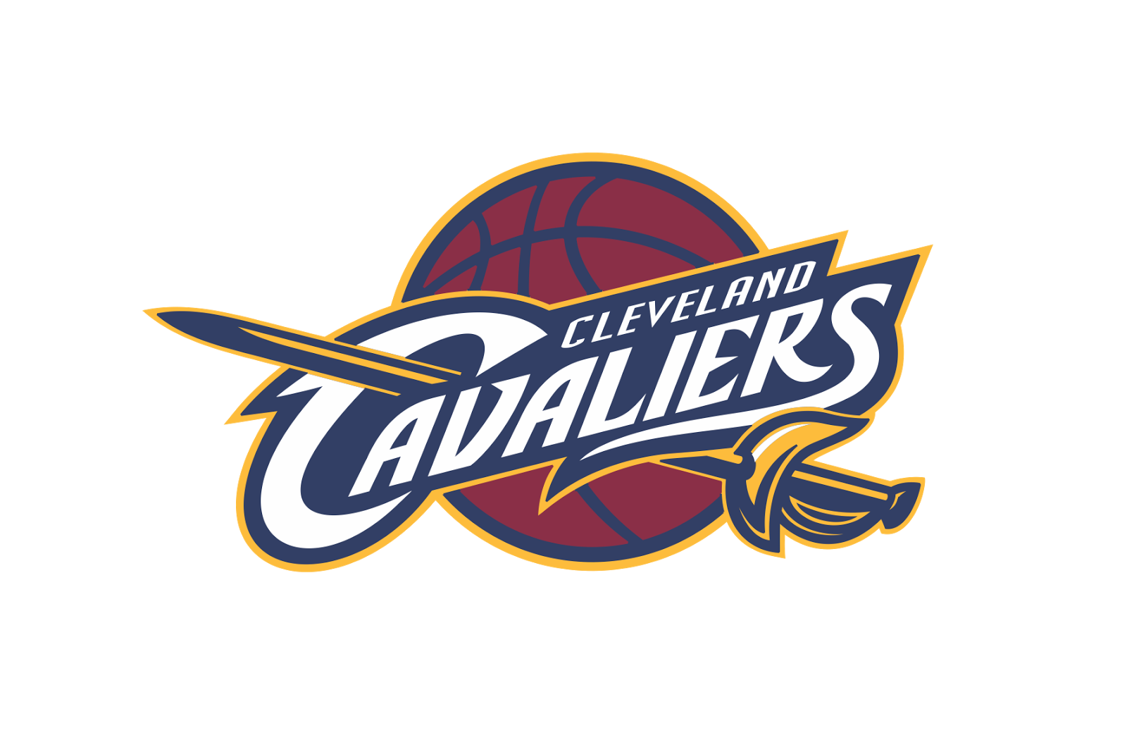 Calvalier basketball champ trophy clipart black & white graphic royalty free library The Cleveland Cavaliers have secured their return to the Eastern ... graphic royalty free library