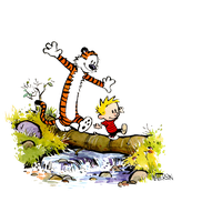 Calvin and hobbes clipart free vector stock Download Calvin And Hobbes Free PNG photo images and clipart ... vector stock