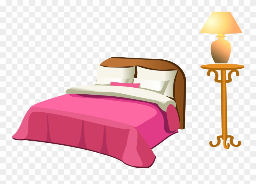 Cama clipart picture transparent library Table Clip Bed Clipart Library - Imagenes De Cama En Ingles - Png ... picture transparent library