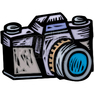 Camara clipart picture transparent A Professional Photographers Camera clipart. Royalty-free clipart # 156333 picture transparent