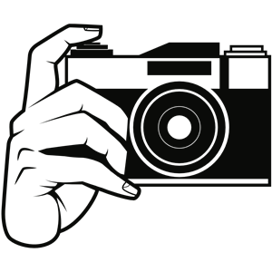 Camara clipart graphic black and white library Camera clipart, cliparts of Camera free download (wmf, eps, emf, svg ... graphic black and white library