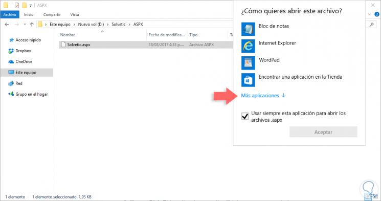 Cambiar formato de pdf a clipart svg freeuse download Cómo abrir archivo ASPX y convertir a PDF - Solvetic svg freeuse download