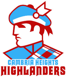 Cambria heights clipart graphic Cambria Heights Highlanders Kitchen & Dining Supplies | Zazzle.com.au graphic