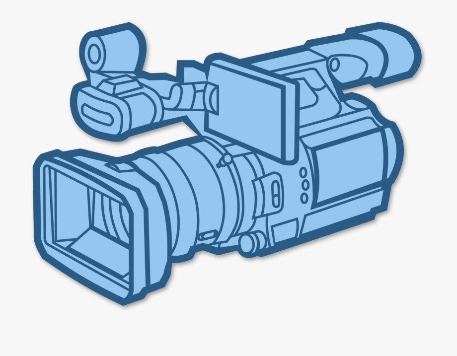 Camcorder clipart graphic library library Camcorder Clipart - Video Camera Black And White #2551487 - Free ... graphic library library