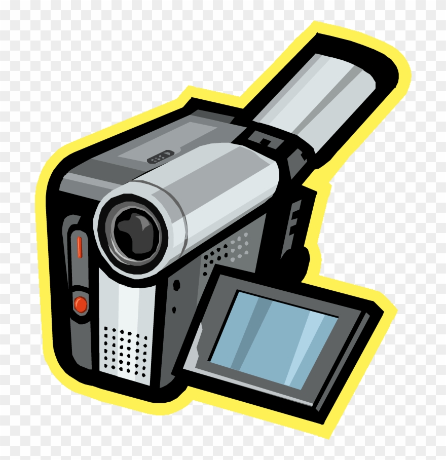 Camcorder clipart free library Clipart Camera Animated - Camcorder Clipart - Png Download (#1464604 ... free library