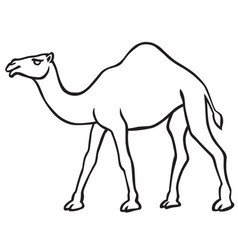 Camel clipart outline jpg royalty free download Camel Outline Vector Images (over 760) jpg royalty free download