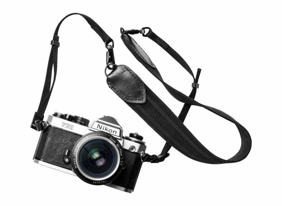 Camera and strap clipart clip transparent stock Nikon Fe2 Camera - Strap Free PNG Images & Clipart Download #221185 ... clip transparent stock