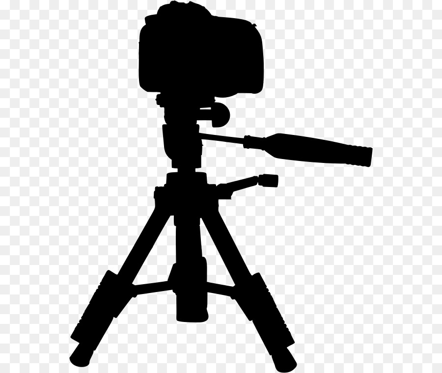 Camera and tripod clipart vector black and white library Camera Silhouette clipart - Camera, Silhouette, Product, transparent ... vector black and white library