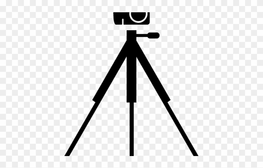 Camera and tripod clipart graphic royalty free Camera On Tripod Clipart - Camera With Tripod Clipart - Png Download ... graphic royalty free